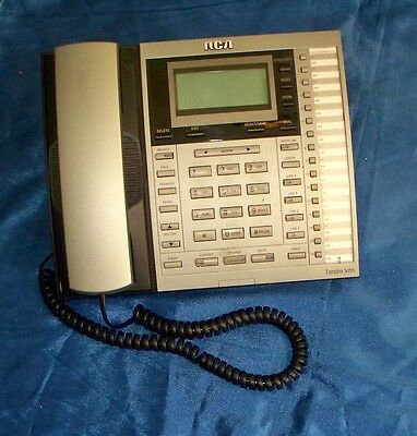RCA Model 25413RE3-A Executive Series 4-Line Business Phone