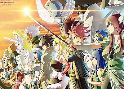 FAIRY TAIL POSTER - 2 Sizes Available [02] CARTOON ANIME MANGA POSTER