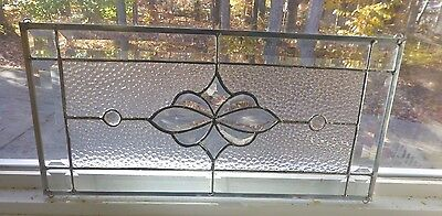 Mini All clear  Stained glass and Beveled Panel! 2 Available