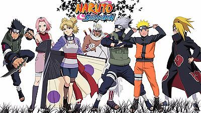 NARUTO SHIPPUDEN POSTER - 2 Sizes Available [04] Nickelodeon Teen Kids