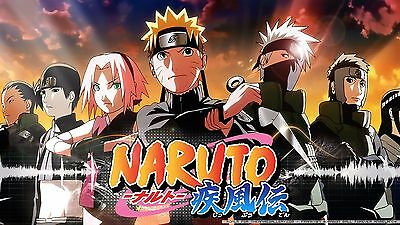 NARUTO SHIPPUDEN POSTER - 2 Sizes Available [05] Nickelodeon Teen Kids