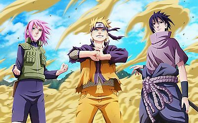 NARUTO SHIPPUDEN POSTER - 2 Sizes Available [07] Nickelodeon Teen Kids