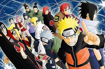 NARUTO SHIPPUDEN POSTER - 2 Sizes Available [10] Nickelodeon Teen Kids