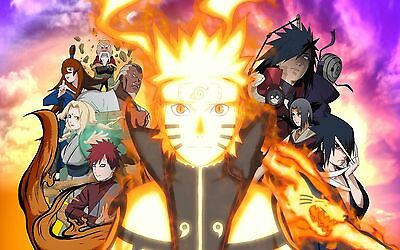 NARUTO SHIPPUDEN POSTER - 2 Sizes Available [11] Nickelodeon Teen Kids
