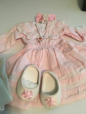 American Girl Nellie Spring Party Dress Complete Outfit, Excellent RETIRED