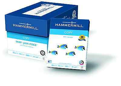Hammermill Paper Ream 8.5x11 Letter 5000 Copy Sheets 92 Bright White 20lb Laser