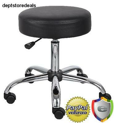 Doctor Stool Office Medical Lab Shop Black Adjustable Professional Dental Magnet