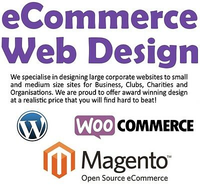 Professional Magento Web Design - Online Shop, eCommerce Store, Website, ebay wp
