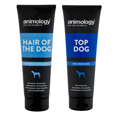 Animology Hair of the Dog Anti-Tangle Shampoo &  Top Dog Conditioner Set
