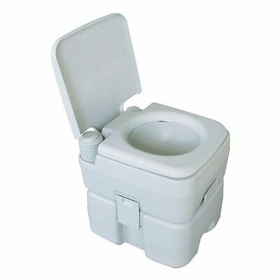 20L Portable Camping Toilet with cover and chemicals