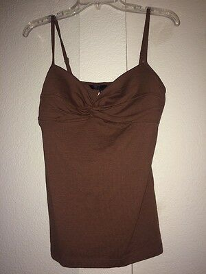 Body By Victoria's Secret Light Brown Tank Top Camisole New Large Women's