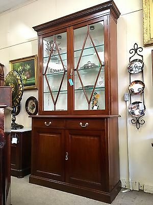 Scottish Chippendale China Cabinet