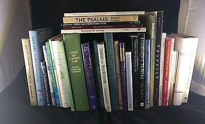 Lot of over 30 Catholic Book