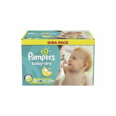 Baby Dry Size 4+ Maxi+ 8-18kg Giga Pack (112 Nappies)