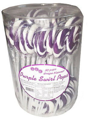 Swirl Pops purple (50 x 15g)