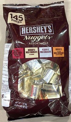 Hershey's Nuggets Assortment 1.47kg chocolate with almonds toffee free shipping