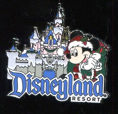 DLR Mickey Mouse Christmas Holiday Disney Pin 93832