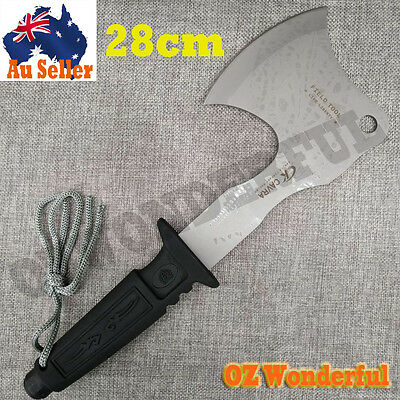 28cm Camping Axe Outdoor Camping Survival Tool Chop Hunting Hiking Wood Pile New