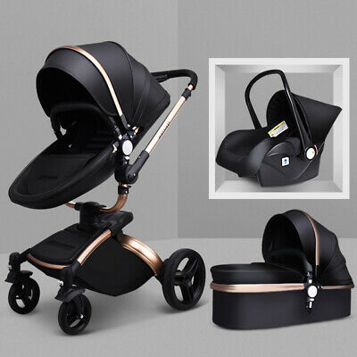 Baby Stroller 2017 Hot Mom 3 in 1 travel system Bassinet pram Pushchair car seat