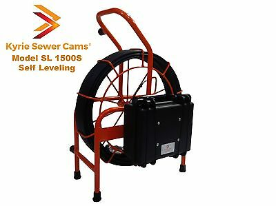 150 foot Self Leveling Sewer Camera, 512 hz Sonde, 150' Model SL 1500S
