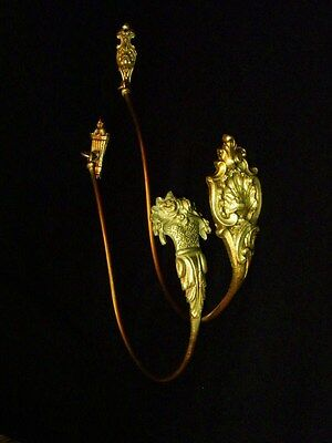 Antique Large Set of  French Tie backs Gilt Bronze Louis XVI Style 19Th. C