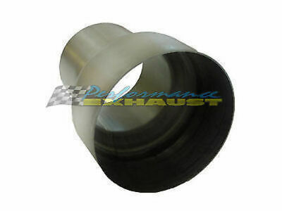 """2"""" 51Mm - 2.5"""" 57Mm Stainless Steel Exhaust Pipe Reducer"""
