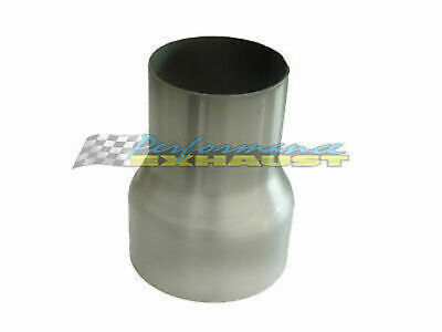 """2.5"""" 63Mm - 3"""" 76Mm Stainless Steel Exhaust Pipe Reducer"""
