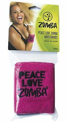 Zumba Peace Love Wrist Bands