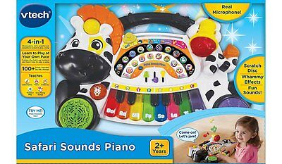 New Vtech Safari Sounds Piano 80-179103