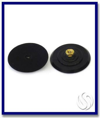 SDA V'cro Coupling 130mm M14 Thread. Rubber Body.