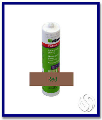 310ml Konig Silicone Red for Natural Stone (Mainrot)