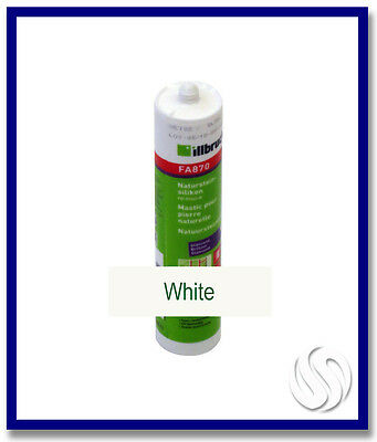 310ml Konig Silicone White for Natural Stone (Weiss)