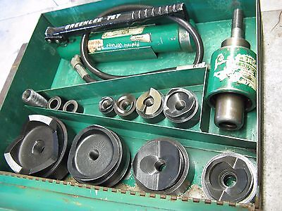 Greenlee 7310SB Slug Buster Hydraulic Knockout Punch Driver Set for 1/2 - 4""