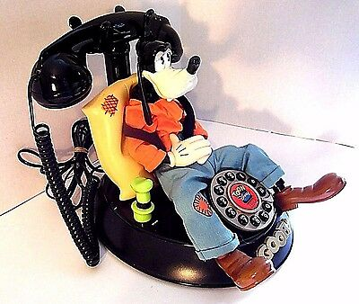 Goofy Telephone Toon Disney With Redial Works Great! (Goofy Moves)! Ships FAST!