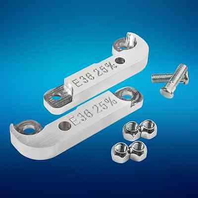 TURN ANGLE ADAPTERS 25% for BMW E36 LOCK KIT ADAPTER DRIFT