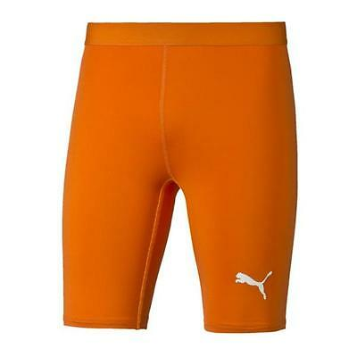 Puma TB Short Tight Hose kurz Orange F08