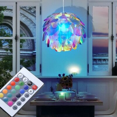 Lampe suspension de plafond RGB LED Bloom pépinière à distance lampe dimmable