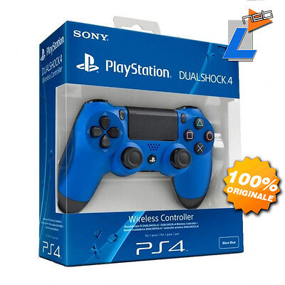 Controller Sony Ps4 Dual Shock 4 Wave Blue Wireless Gamepad