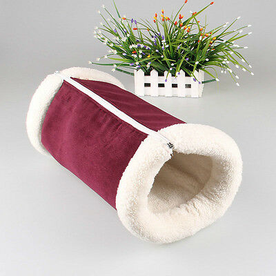 SMALL GREEN 3 in 1 cat bed, cat tunnel, heat reflecting cat mat