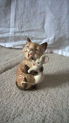 Beswick - COMICAL CAT & MOUSE - Excellent Condition