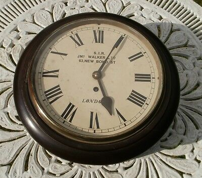Vintage Station School Wall Clock South Indian Railway Walker New Bond St London