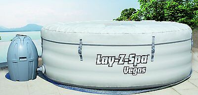 Lay-Z-Spa Vegas Inflatable Portable Hot Tub Spa, 4-6 Person
