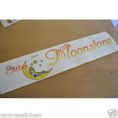 ATLAS Moonstone Static Caravan Side Sticker Decal Graphic - SINGLE