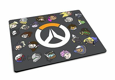 Overwatch Doodles Mousemat Rubber Gaming Mouse Mat Geeks Gamer