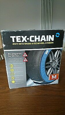 Tex-chain snow and ice tyre covers medium