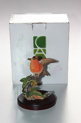 Country Artists, Robin On Hop Plant Boxed.