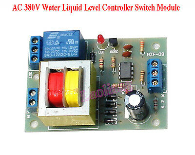 AC 380V 10A Liquid Level Controller Switch Water Level Detection Sensor Module