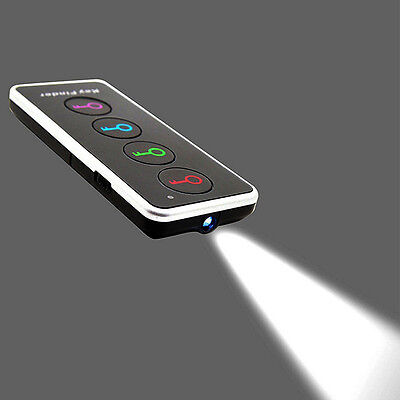 Remote Wireless LED Key Wallet Finder Receiver Lost Thing Alarm Locator@P