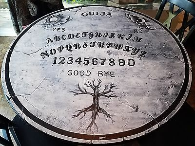 Ouija hand painted table