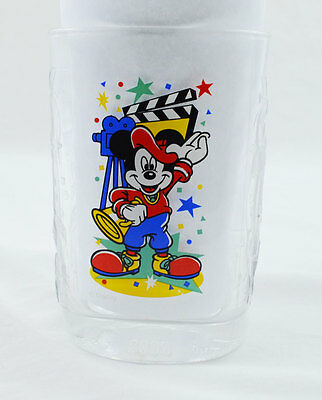 McDonalds Walt Disney - Universal Studios Mickey 2000 Millennium Collector Glass